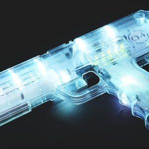 indoor laser tag blaster