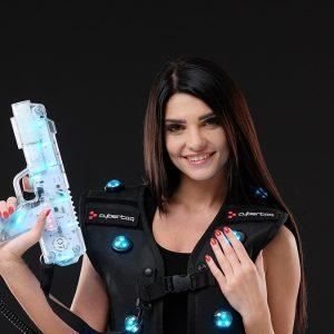 Optima indoor laser tag package
